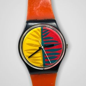 Vintage Mid 80s Swatch Watch
